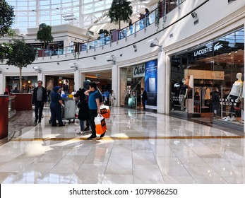 Istanbul, Turkey; Istinye Park that is one of most popular shopping mall in Istanbul Turkey
