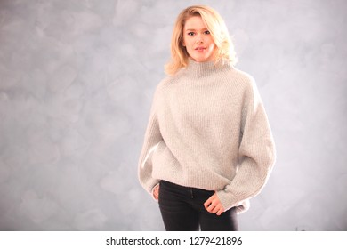 ISTANBUL, TURKEY - JANUARY 9, 2019: Famous Turkish actress television and movie star Burcu Biricik portrait on January 9, 2019 in Istanbul, Turkey