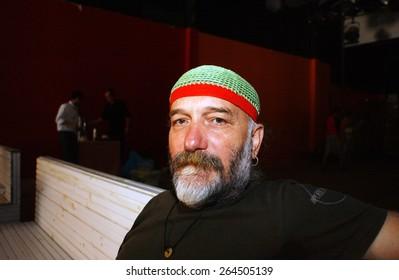 ISTANBUL, TURKEY - JULY  18:  Turkish singer Fuat Saka  Portrait on  July  18, 2006 in Istanbul, Turkey.