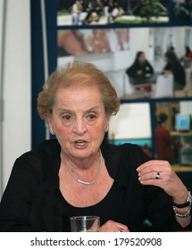 ISTANBUL, TURKEY - JULY 2: American politician and diplomat Madeleine Albright portrait on July 2, 2007, Istanbul, Turkey. She is the first woman to have become the United States Secretary of State.