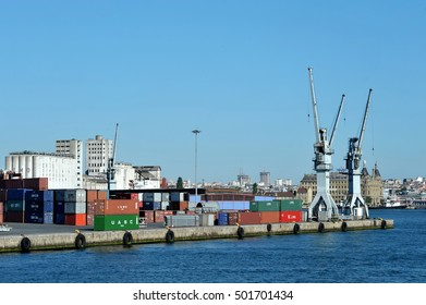 Istanbul, Turkey - June 23, 2011: Haydarpasa port in Istanbul Turkey.