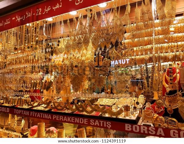 Istanbul Turkey June 9 2018 Jewelry Stock Photo (Edit Now
