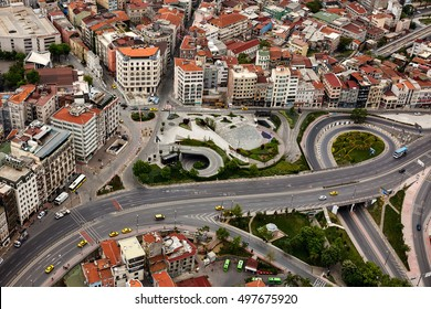 Istanbul, Turkey - May 1, 2016 : Istanbul from air