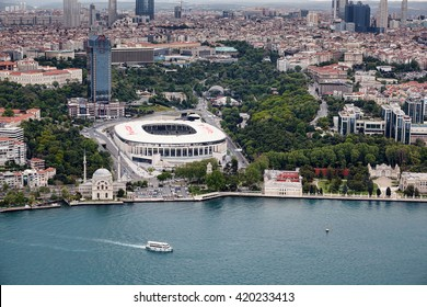 Istanbul, Turkey - May 2, 2016 : Istanbul from air