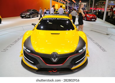 ISTANBUL, TURKEY - MAY 21, 2015: Renault Sport RS1 in Istanbul Autoshow 2015