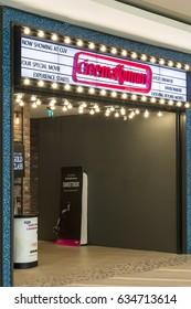 Istanbul, Turkey - May 5, 2017: Cinemaximum cinema halls. Watergarden Shopping Mall, Atasehir