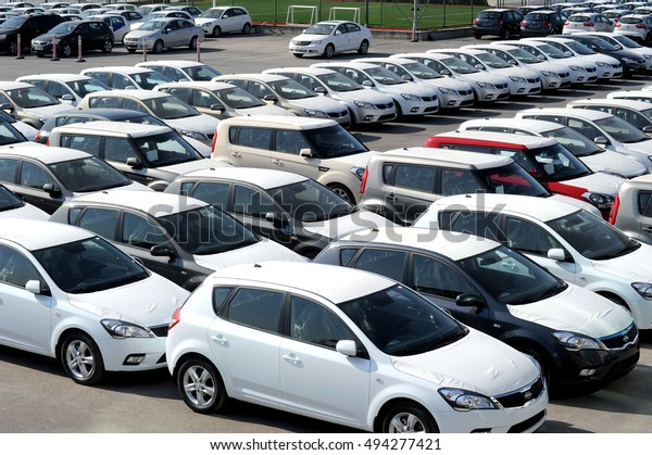 Istanbul Turkey May 52010 Automotive Industry Stock Photo