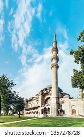 Istanbul Turkey Mosque Suleymaniye Camii Muslim