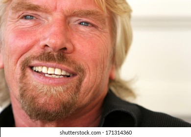 ISTANBUL, TURKEY - NOVEMBER 17: Famous English business magnate Sir Richard Branson on November 17, 2007 in Istanbul, Turkey. He is the founder of Virgin Group, which comprises more than 400 companies
