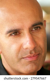 ISTANBUL, TURKEY - OCTOBER 17: Canadian author, speaker and leadership expert Robin Sharma on October 17, 2006 in Istanbul, Turkey. He is the author of best sellers, The Monk Who Sold His Ferrari.