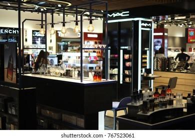 ISTANBUL, TURKEY - OCTOBER 2017: Duty Free shop in Istanbul Ataturk Airport (IST) on October 16, 2017 in Istanbul, Turkey.