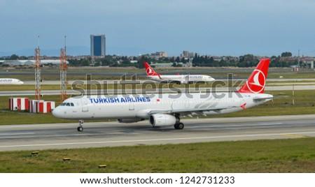 Istanbul Turkey Sep 30 2018 Airbus Stock Photo (Edit Now