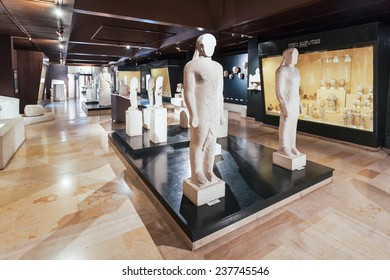 ISTANBUL, TURKEY - SEPTEMBER 07, 2014: Istanbul Archaeology Museum on September 07, 2014 in Istanbul, Turkey