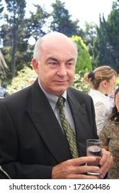 ISTANBUL, TURKEY - SEPTEMBER 13: Turkish politician and economist Kemal Dervis portrait on September 13, 2005, Istanbul, Turkey. Kemal Dervis is former head of the United Nations Development Programme