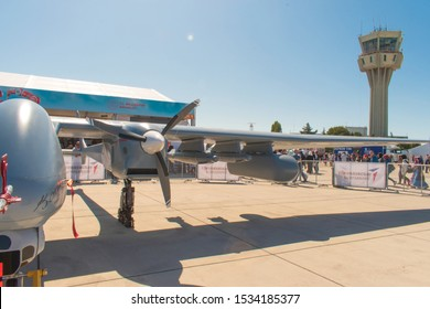 Istanbul, Turkey / September 2019  AKSUNGUR - High Useful Load Capacity UAV The TAI Phoenix aircraft is the largest aircraft of the manufacturer capable of carrying load for mission-specific equipment