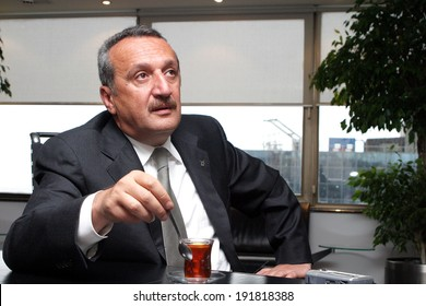 ISTANBUL, TURKEY - SEPTEMBER 4: Turkish former police chief and politician Mehmet Agar on September 4, 2006, Istanbul, Turkey. He is former government minister and leader of the Democratic Party.