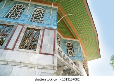 ISTANBUL, TURKEY. Topkapi palace, the center of the Ottoman empire for almost 500 years. Topkapi Palace is popular and must-see tourist attraction in the Turkey.