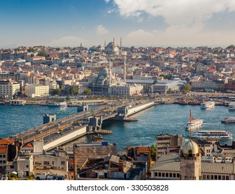 Istanbul, Turkey, view of the city, 29 July 2015