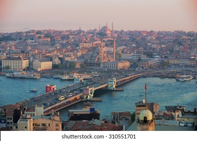 Istanbul, Turkey, View from Galata Tower