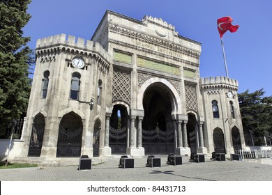Istanbul University in Beyazit Square in Istanbul,Turkey