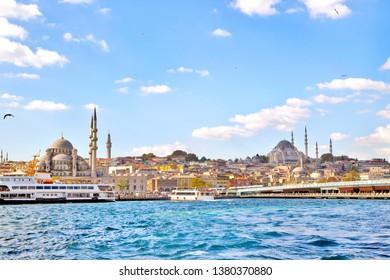 Istanbul-Bosporus, Turkey