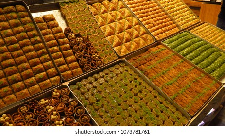 Istanbul's Grand Bazaar and Spice Bazaar offer just the tip of the iceberg when it comes to delicacies in Turkey: there are many types of Turkish Delight and Baklava to be found anywhere in the countr