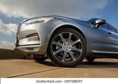Istanbul/Turkey - December 10 2017 : The Volvo XC60 is a compact luxury crossover SUV manufactured and marketed by Swedish automaker Volvo Cars.