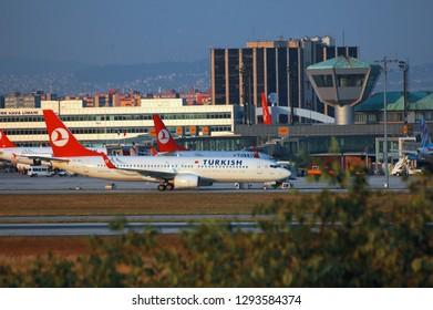 Istanbul/Turkey - July 2010 Atatürk Airport