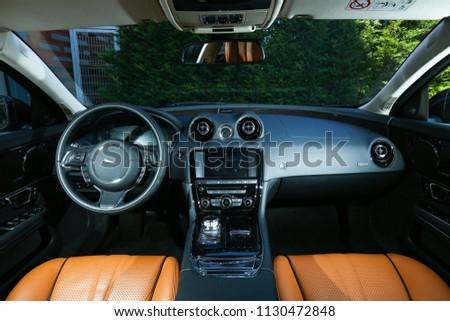 Istanbul Turkey June 22 2016 Jaguar Xj Stock Photo Edit Now