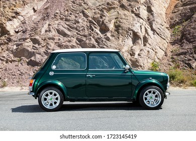 Istanbul/Turkey - May 2 2020 : Mini is a small economy car produced by the English-based British Motor Corporation (BMC) and its successors from 1959 until 2000.
