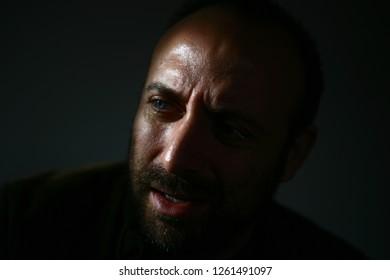 istanbul,turkey/ turkey - 24.11.2009: cinema and theater actor halit ergenc