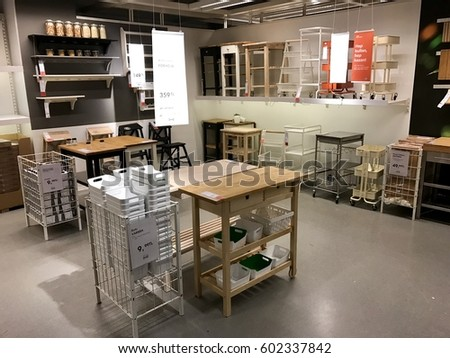 Istanbulturkeymarch 112017 Ikea Store Bayarampasa District Interior