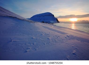 Istfjord on Svalbard