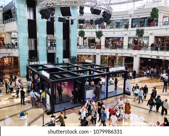 Istinye Park that is one of most popular shopping mall in Istanbul Turkey
