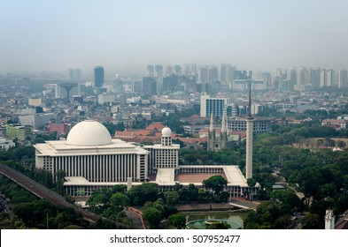 Istiqlal Mosque Images Stock Photos Vectors Shutterstock