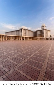 Istiqlal Mosque in the Morning