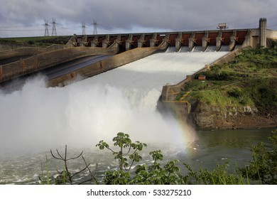 Itaipu hydroelectric power plant - Brazil