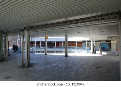 ITAKESKUS, HELSINKI, MAY 4 2017. Puhos shopping centre that is occupied by immigrants in Itakeskus, Helsinki on May 4 2017.