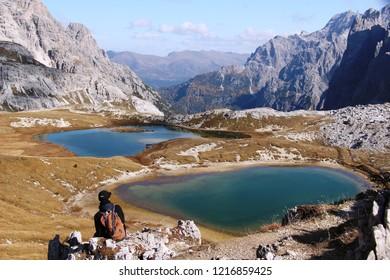 Italian alpine lakes