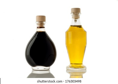 italian balsamic vinegar of Modena and olive oil