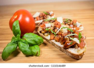 Italian Bruschetta bread