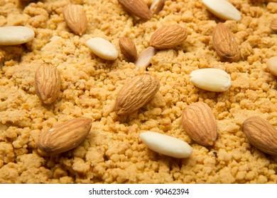italian cake with almonds