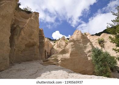 Italian canyon - Lame Rosse (Fiastra, Marche, Italy)
