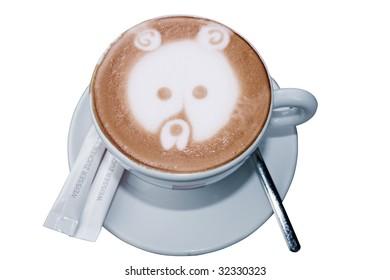 """italian cappuccino """"bear"""""""
