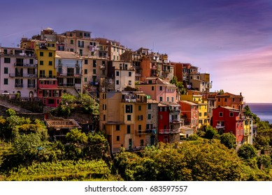 Italian Coastal Sunset