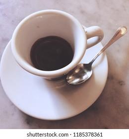 Italian coffee espresso