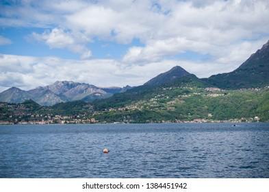 Italian countryside by Como Lake