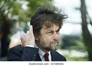 Italian director and president of the jury Nanni Moretti poses during the photo call of the jury of the 65th Cannes film festival on May 16, 2012 in Cannes