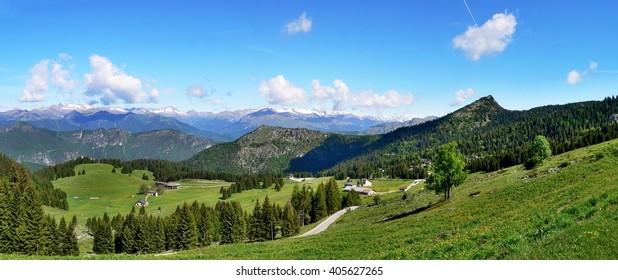 Italian Dolomites- panoramic views from the Tremalzo