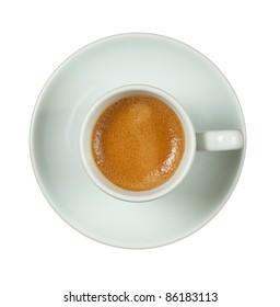 Italian espresso cup.